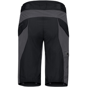 VAUDE Downieville Shorts Herren black/anthracite print